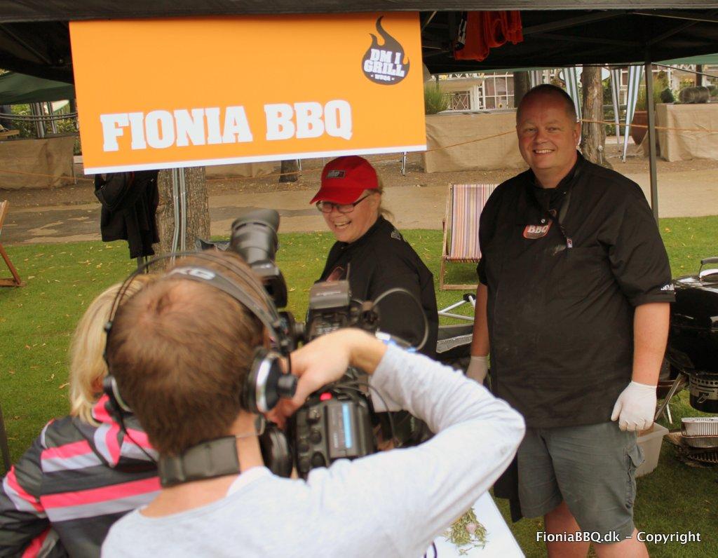 Søren & Karin fra Fionia BBQ under DM i Grill 2011
